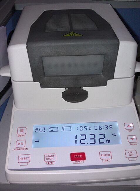 jz-k6卤素快速水分测定仪快速水分测定仪操作步骤