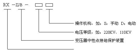 jz-jb变压器中性点间隙接地保护装置